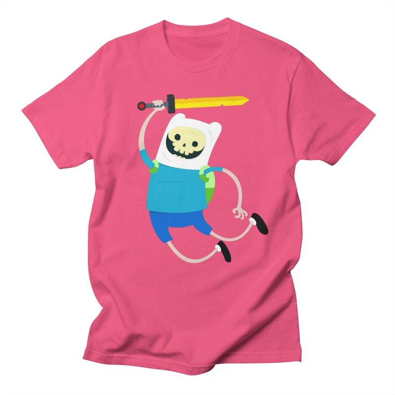 Finn the Skull Men's Regular T-Shirt by thiagoegg's Artist Shop