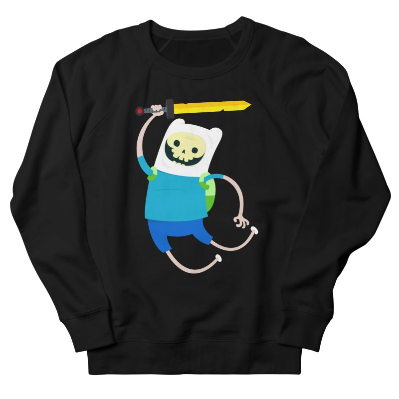 Finn the Skull Women's French Terry Sweatshirt by thiagoegg's Artist Shop