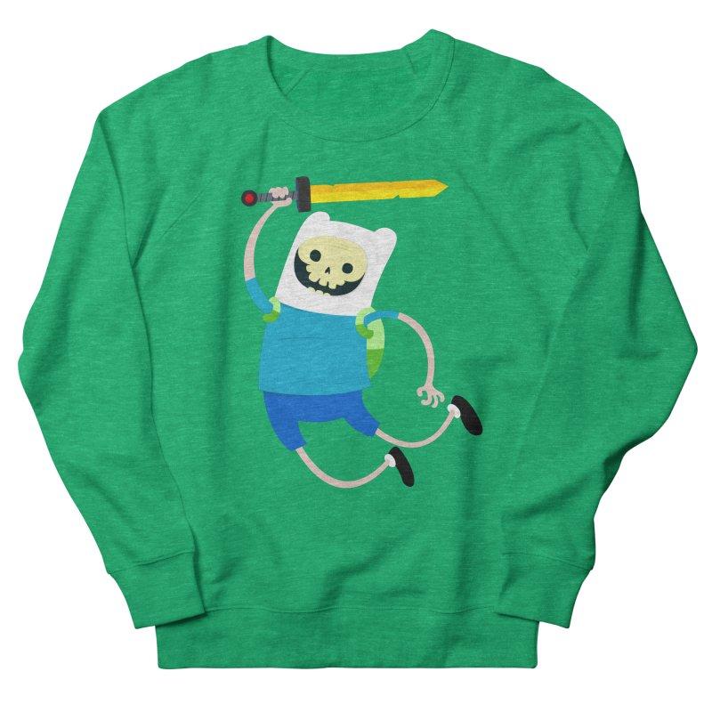 Finn the Skull Men's French Terry Sweatshirt by thiagoegg's Artist Shop