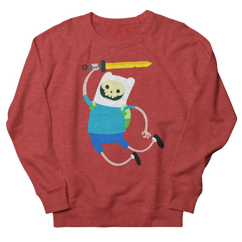 Finn the Skull Men's Sweatshirt by thiagoegg's Artist Shop