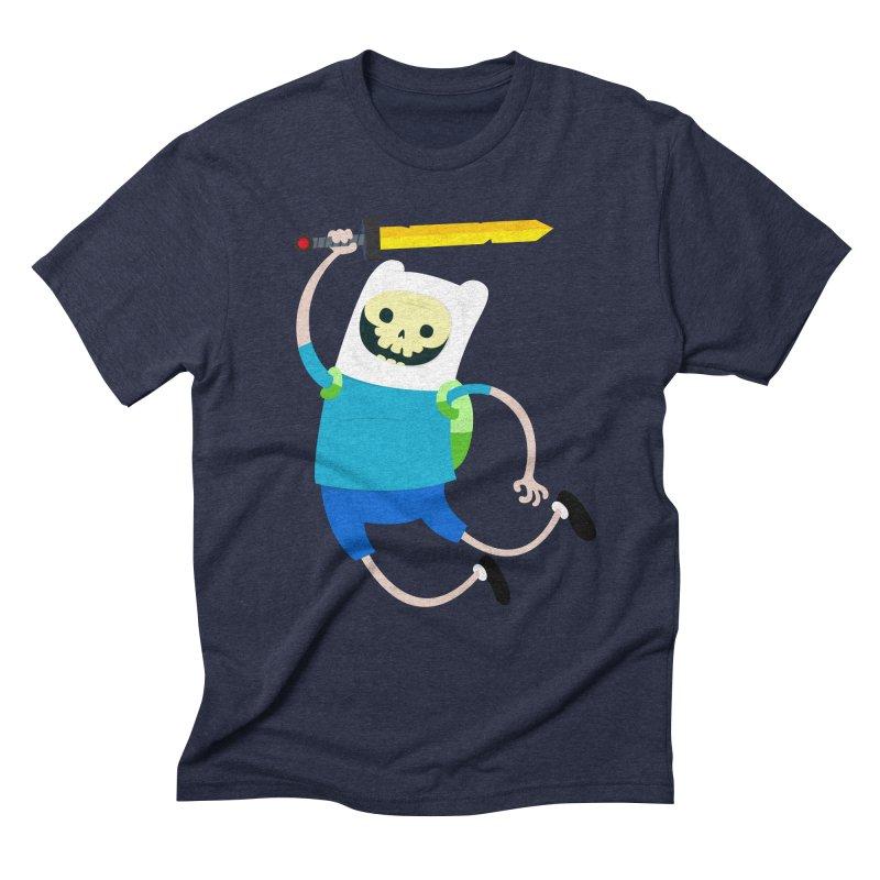 Finn the Skull Men's Triblend T-Shirt by thiagoegg's Artist Shop