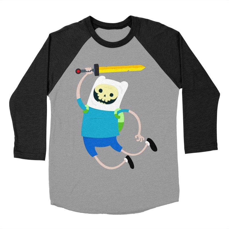 Finn the Skull Women's Baseball Triblend Longsleeve T-Shirt by thiagoegg's Artist Shop