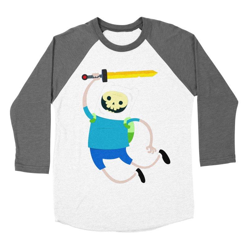 Finn the Skull Men's Baseball Triblend T-Shirt by thiagoegg's Artist Shop