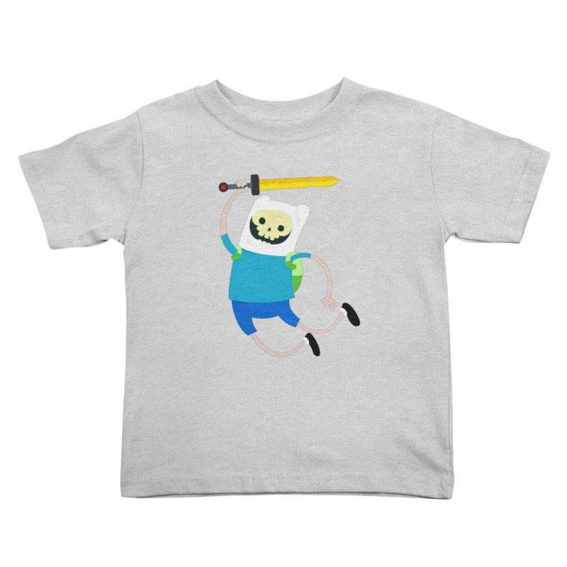 Finn the Skull Kids Toddler T-Shirt by thiagoegg's Artist Shop