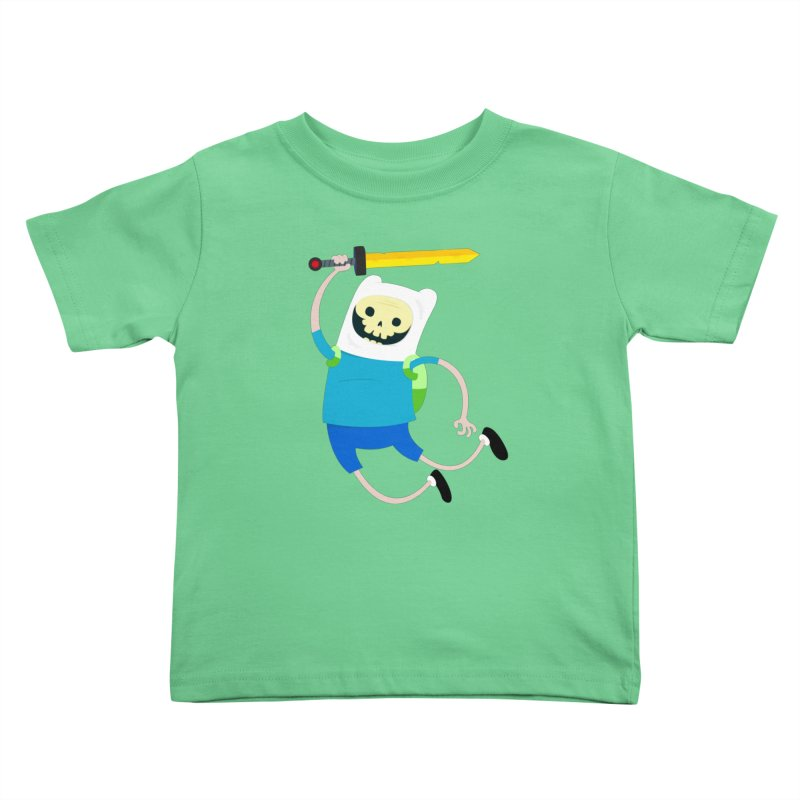 Finn the Skull Kids Toddler T-Shirt by thiagoegg's Artist Shop