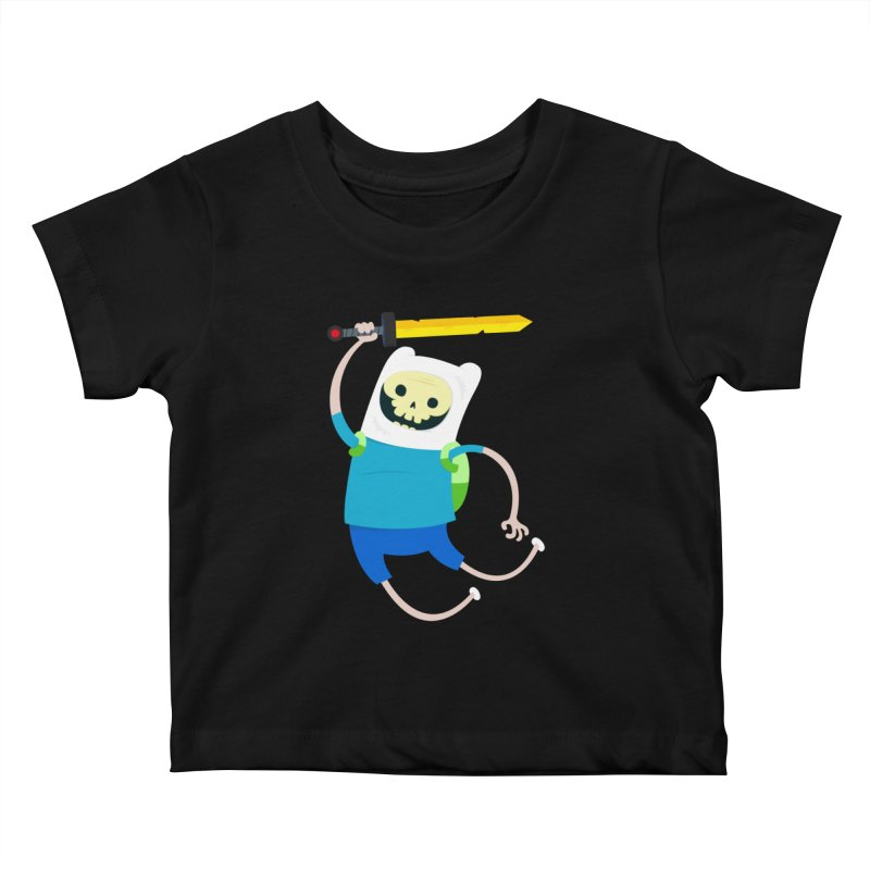 Finn the Skull Kids Baby T-Shirt by thiagoegg's Artist Shop