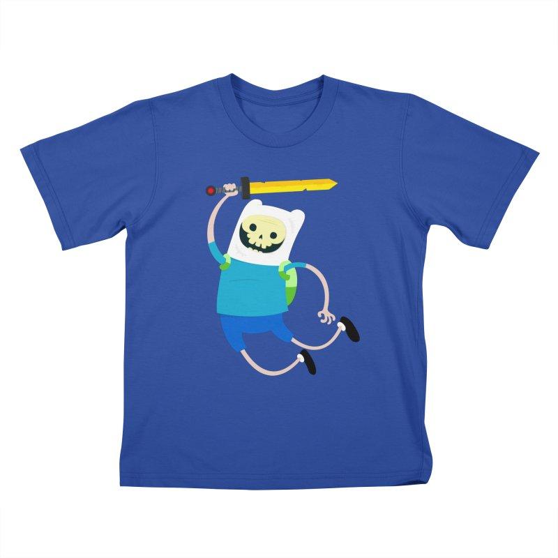 Finn the Skull Kids T-Shirt by thiagoegg's Artist Shop