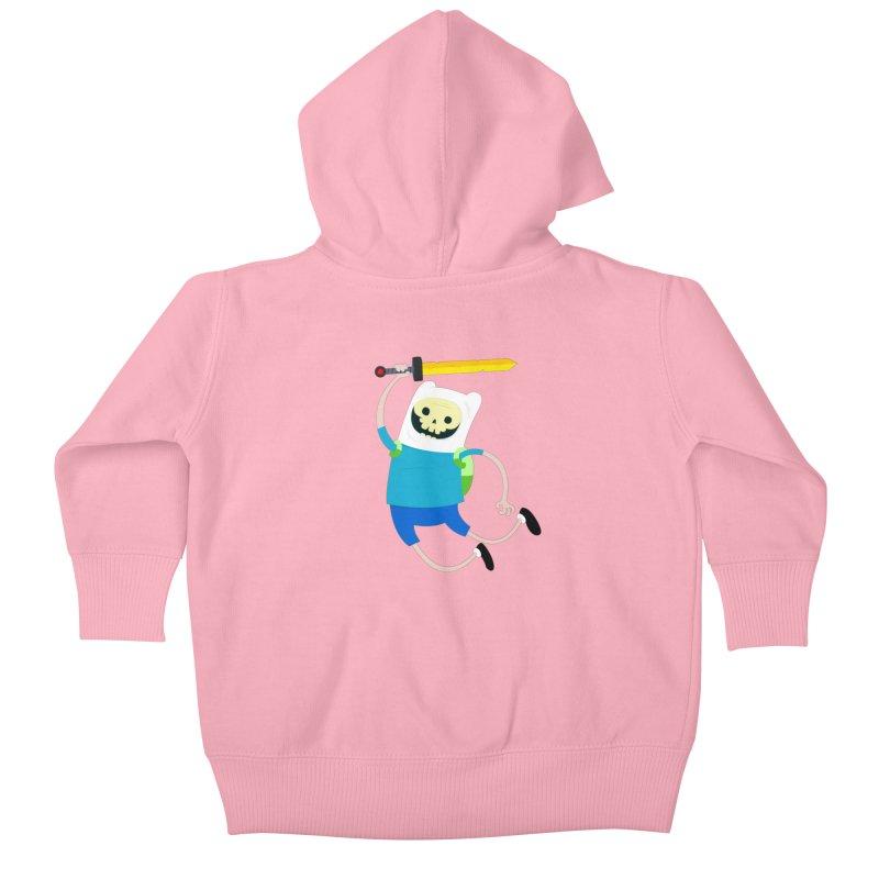 Finn the Skull Kids Baby Zip-Up Hoody by thiagoegg's Artist Shop