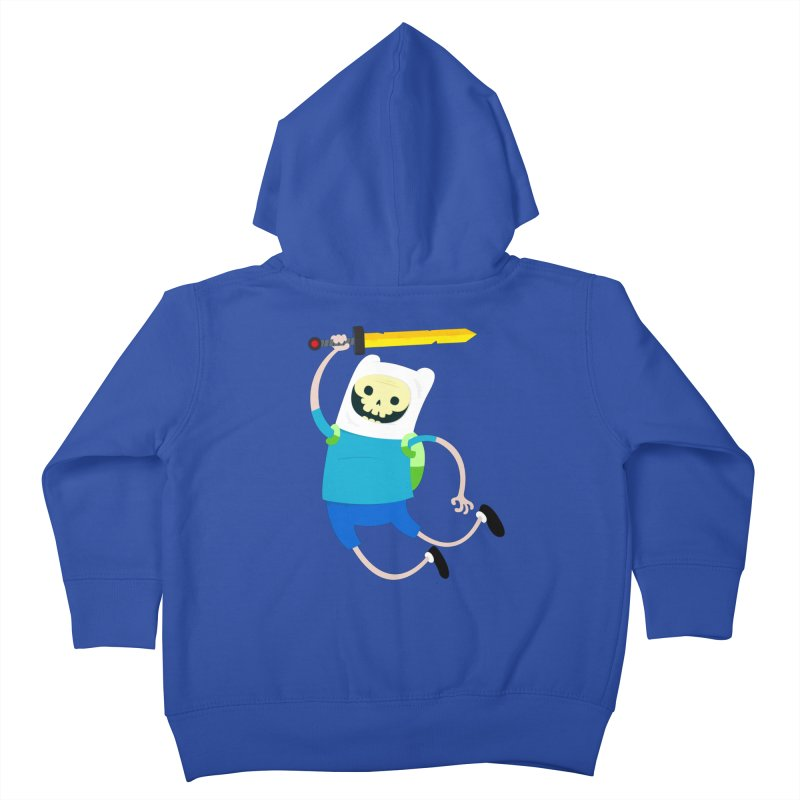 Finn the Skull Kids Toddler Zip-Up Hoody by thiagoegg's Artist Shop