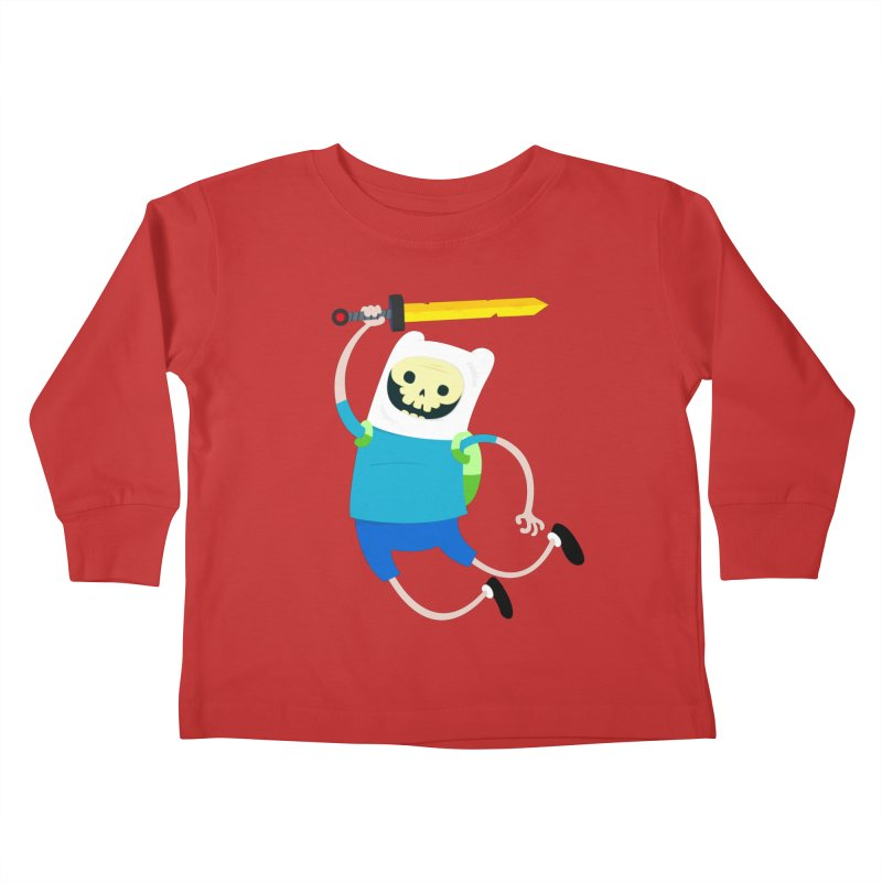 Finn the Skull Kids Toddler Longsleeve T-Shirt by thiagoegg's Artist Shop