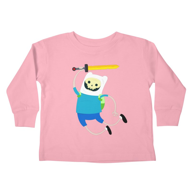 Finn the Skull Kids Toddler Longsleeve T-Shirt by thiagoegg's Artist Shop