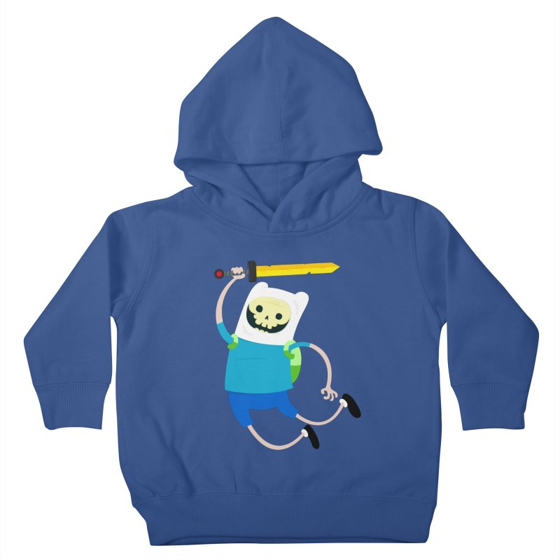 Finn the Skull Kids Toddler Pullover Hoody by thiagoegg's Artist Shop