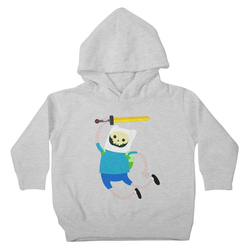 Finn the Skull Kids Toddler Pullover Hoody by thiagoegg's Artist Shop