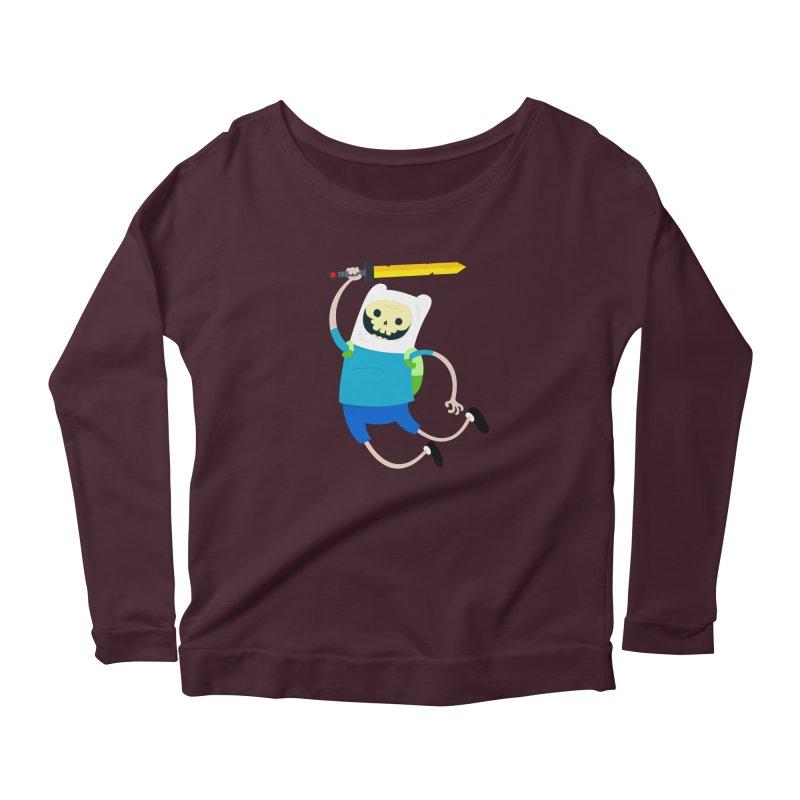 Finn the Skull Women's Longsleeve T-Shirt by thiagoegg's Artist Shop