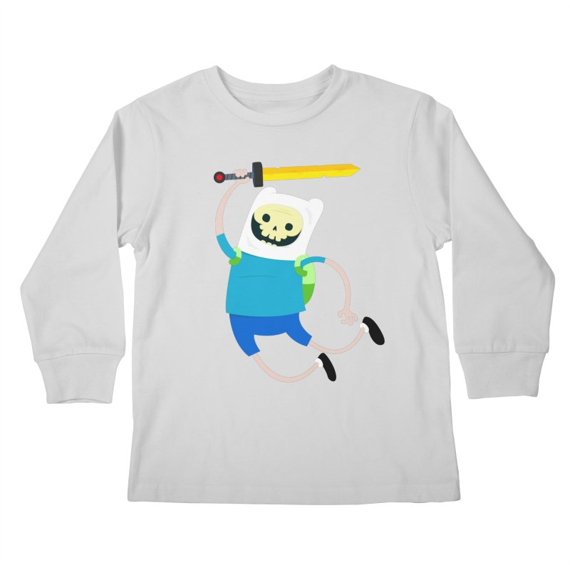 Finn the Skull Kids Longsleeve T-Shirt by thiagoegg's Artist Shop