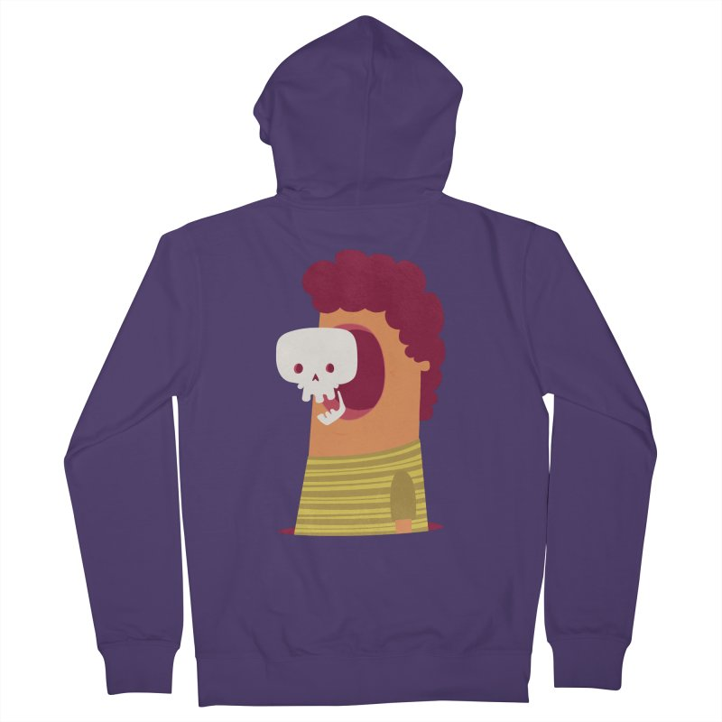 Out Women's French Terry Zip-Up Hoody by thiagoegg's Artist Shop