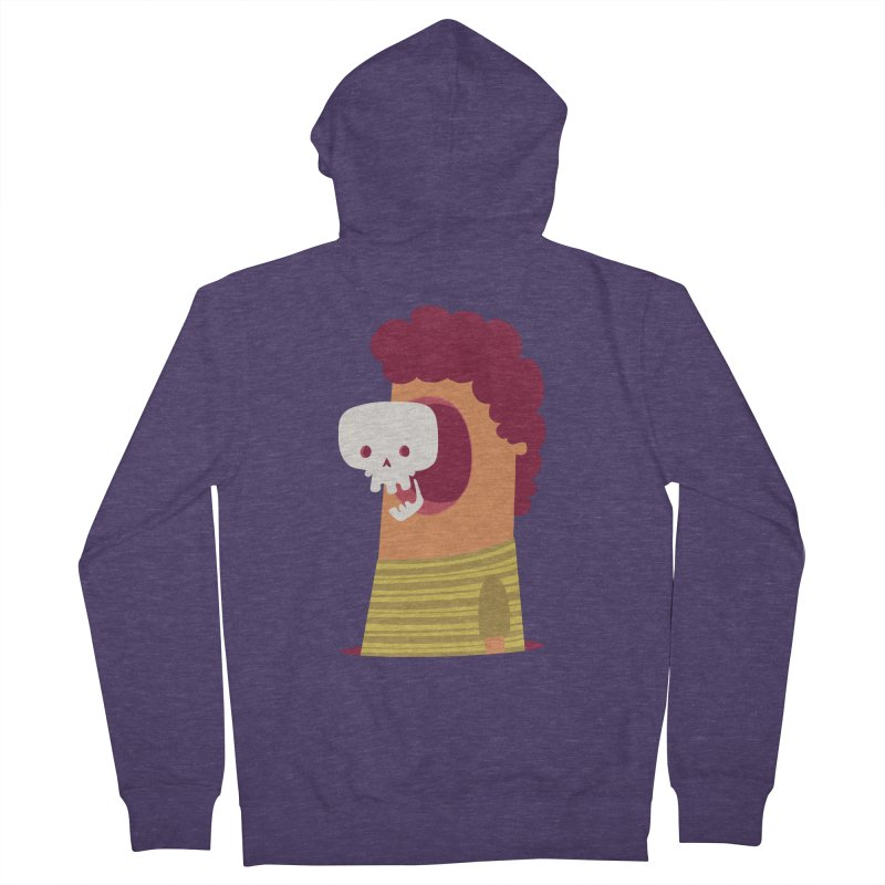 Out Men's French Terry Zip-Up Hoody by thiagoegg's Artist Shop