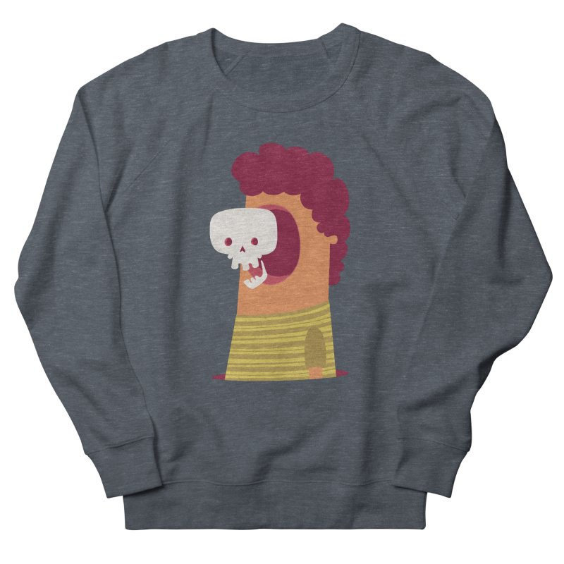 Out Men's French Terry Sweatshirt by thiagoegg's Artist Shop