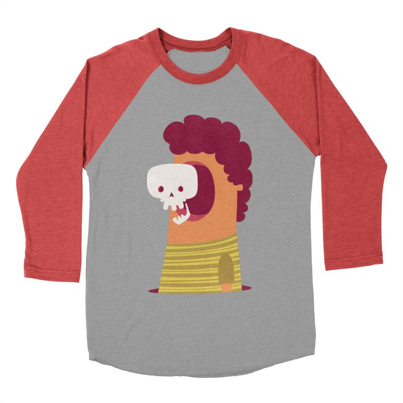 Out Women's Baseball Triblend Longsleeve T-Shirt by thiagoegg's Artist Shop