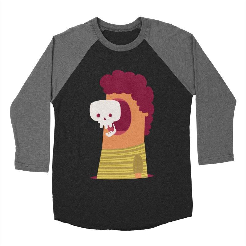 Out Men's Baseball Triblend T-Shirt by thiagoegg's Artist Shop