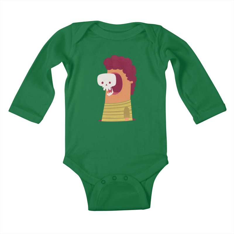 Out Kids Baby Longsleeve Bodysuit by thiagoegg's Artist Shop