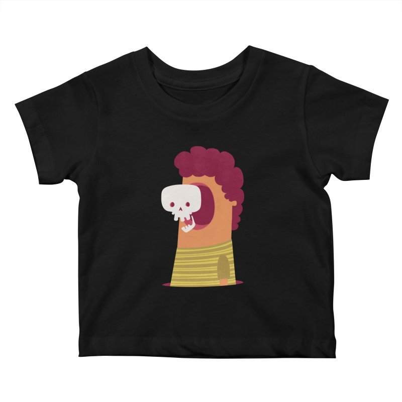 Out Kids Baby T-Shirt by thiagoegg's Artist Shop