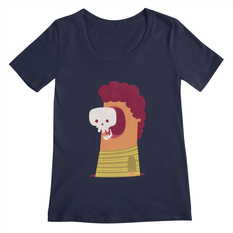 Out Women's Scoopneck by thiagoegg's Artist Shop