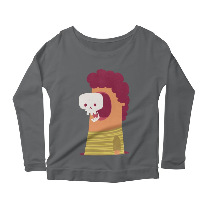 Out Women's Longsleeve Scoopneck  by thiagoegg's Artist Shop
