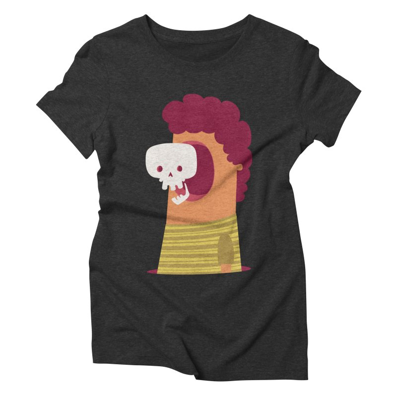 Out Women's Triblend T-Shirt by thiagoegg's Artist Shop