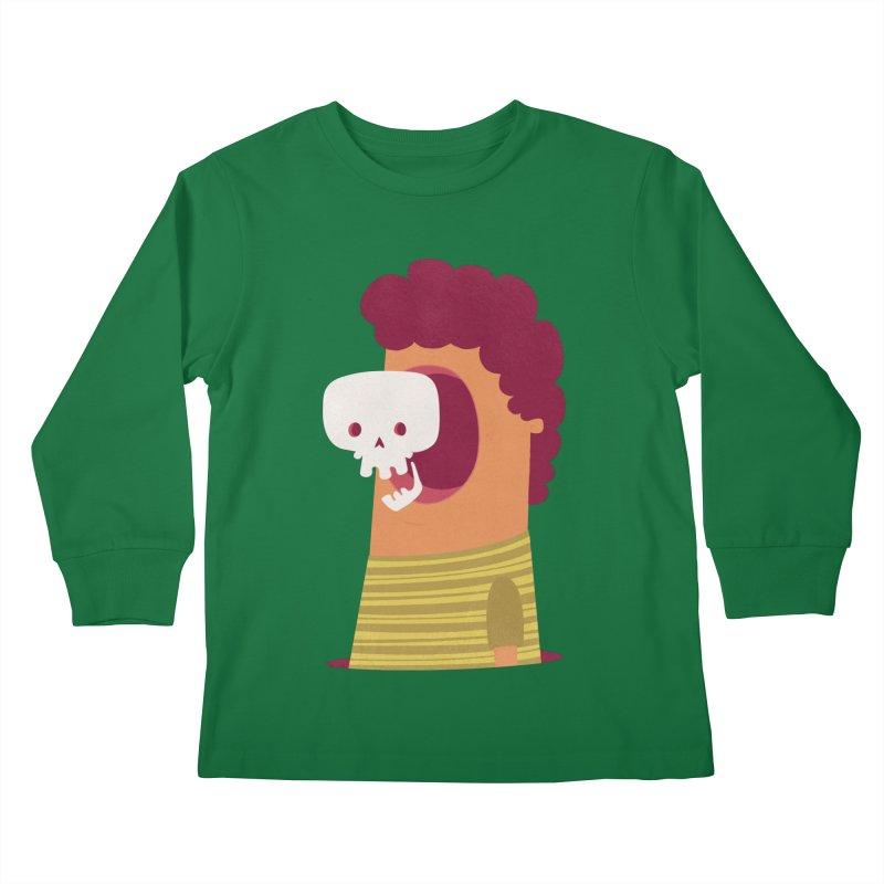 Out Kids Longsleeve T-Shirt by thiagoegg's Artist Shop