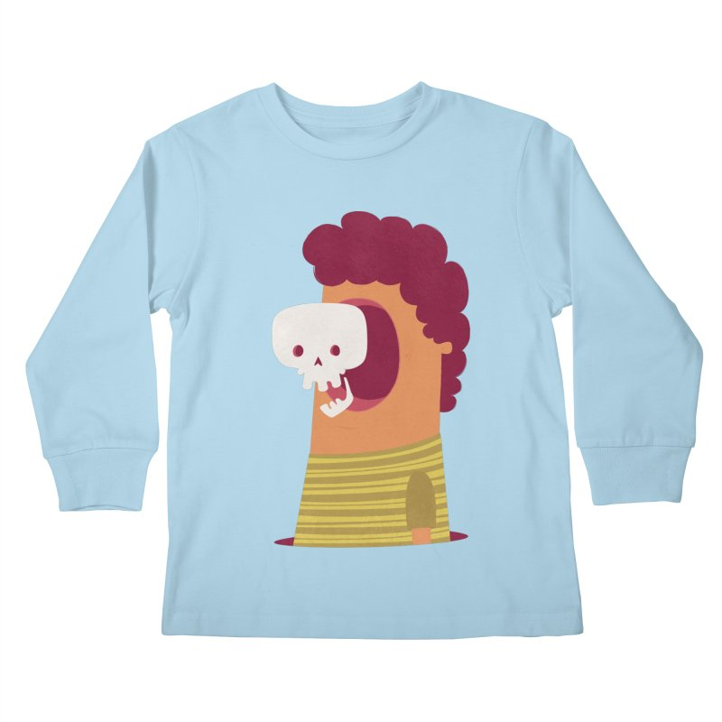Out Kids Longsleeve T-Shirt by thiagoegg's Artist Shop