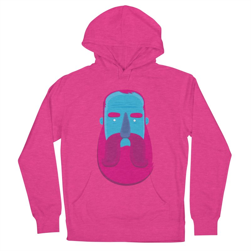 Beard Men's French Terry Pullover Hoody by thiagoegg's Artist Shop