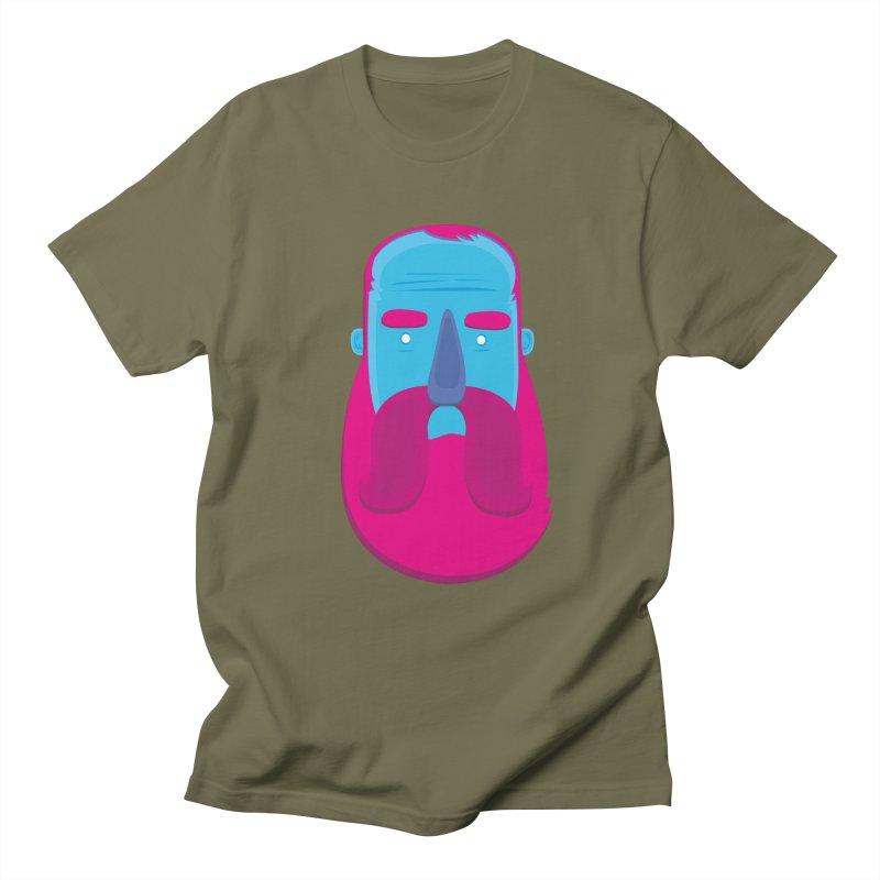 Beard Men's Regular T-Shirt by thiagoegg's Artist Shop