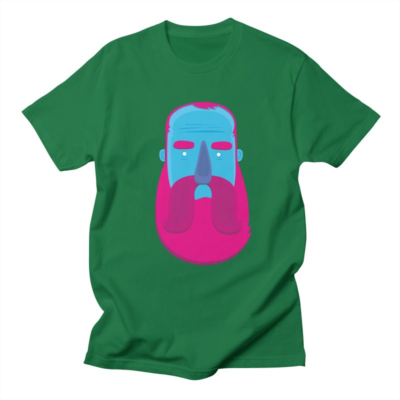 Beard Men's Regular T-Shirt by thiagoegg's Artist Shop