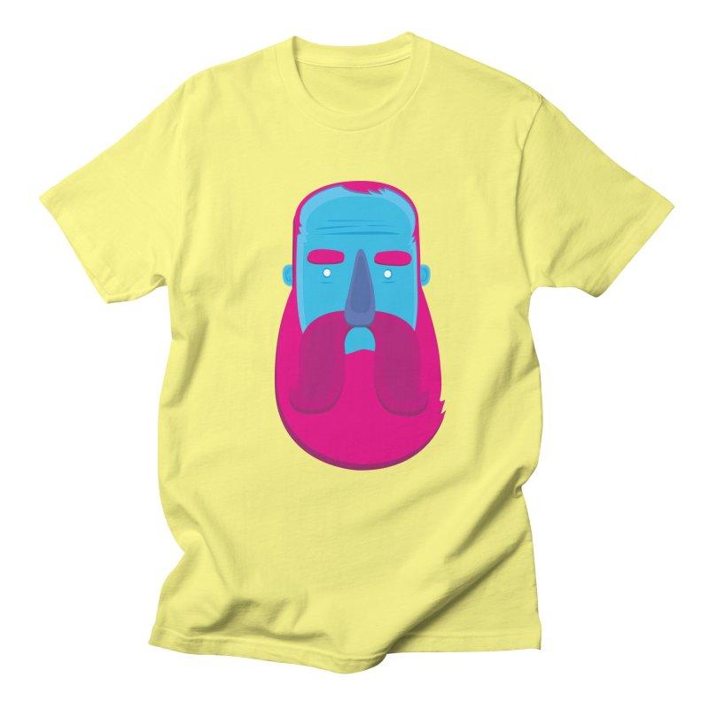 Beard Men's T-shirt by thiagoegg's Artist Shop