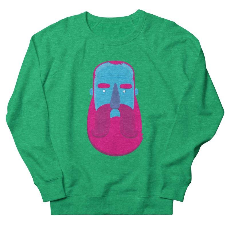 Beard Women's French Terry Sweatshirt by thiagoegg's Artist Shop