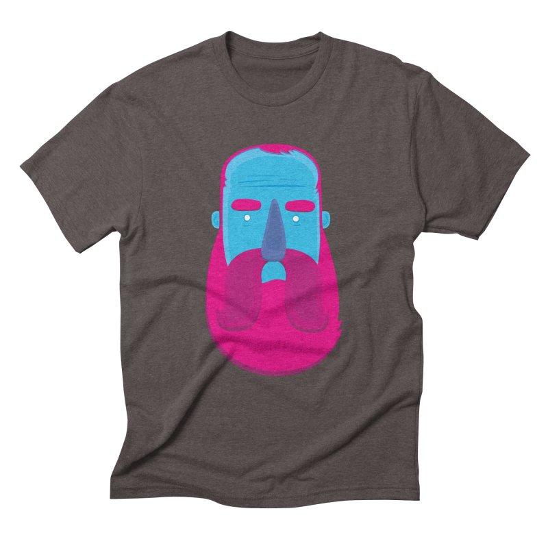 Beard Men's Triblend T-Shirt by thiagoegg's Artist Shop