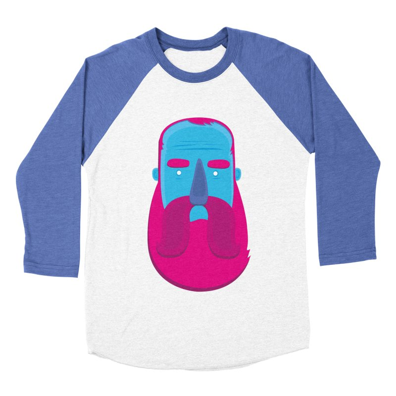 Beard Women's Baseball Triblend Longsleeve T-Shirt by thiagoegg's Artist Shop