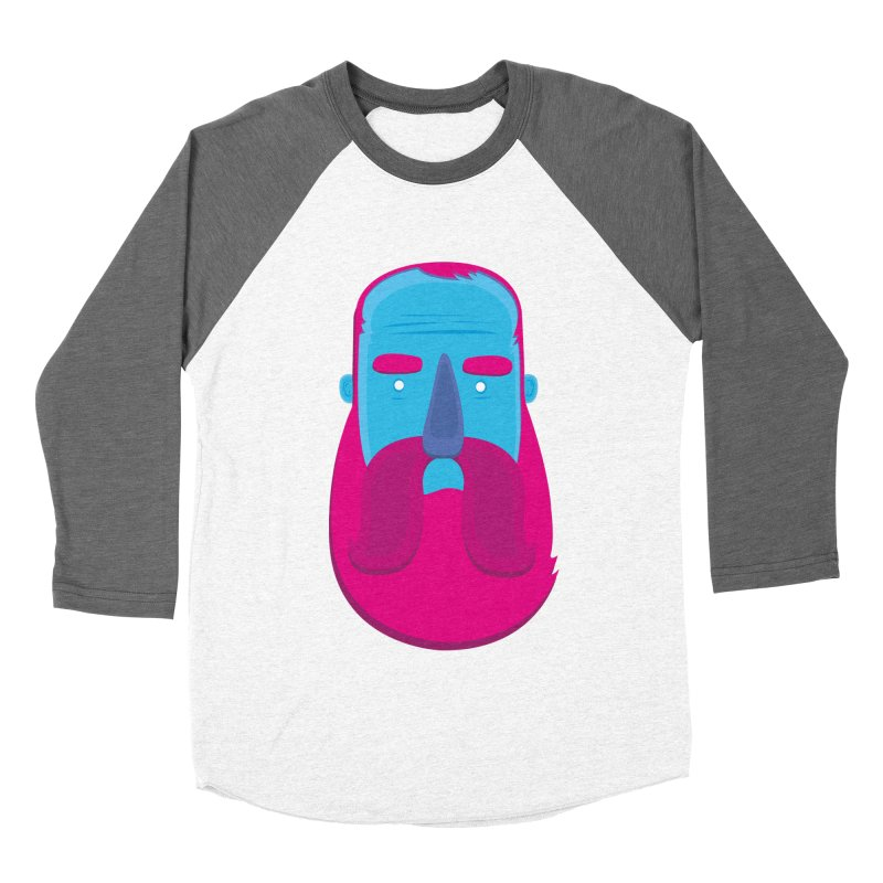 Beard Women's Baseball Triblend T-Shirt by thiagoegg's Artist Shop