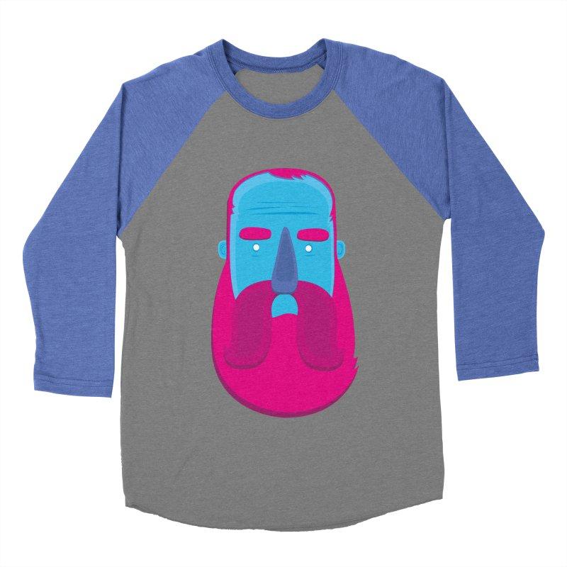 Beard Women's Baseball Triblend Longsleeve T-Shirt by thiagoegg's Artist Shop