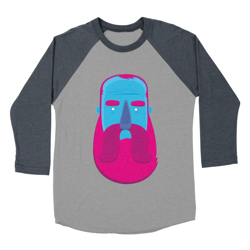 Beard Women's Baseball Triblend T-Shirt by thiagoegg's Artist Shop