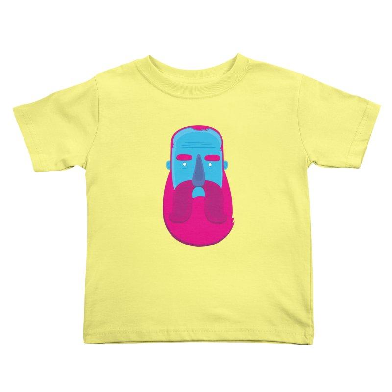 Beard Kids Toddler T-Shirt by thiagoegg's Artist Shop