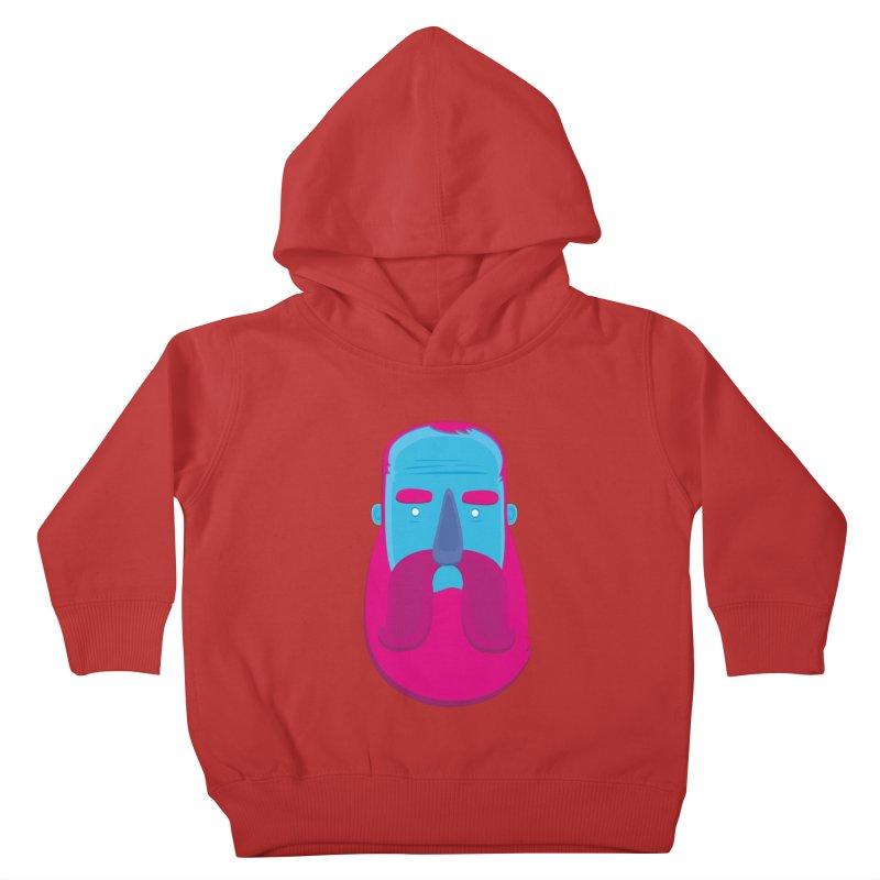 Beard Kids Toddler Pullover Hoody by thiagoegg's Artist Shop