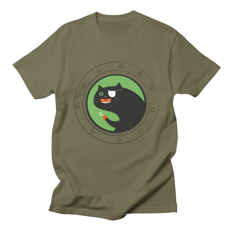 Pirate Cat Men's Regular T-Shirt by thiagoegg's Artist Shop