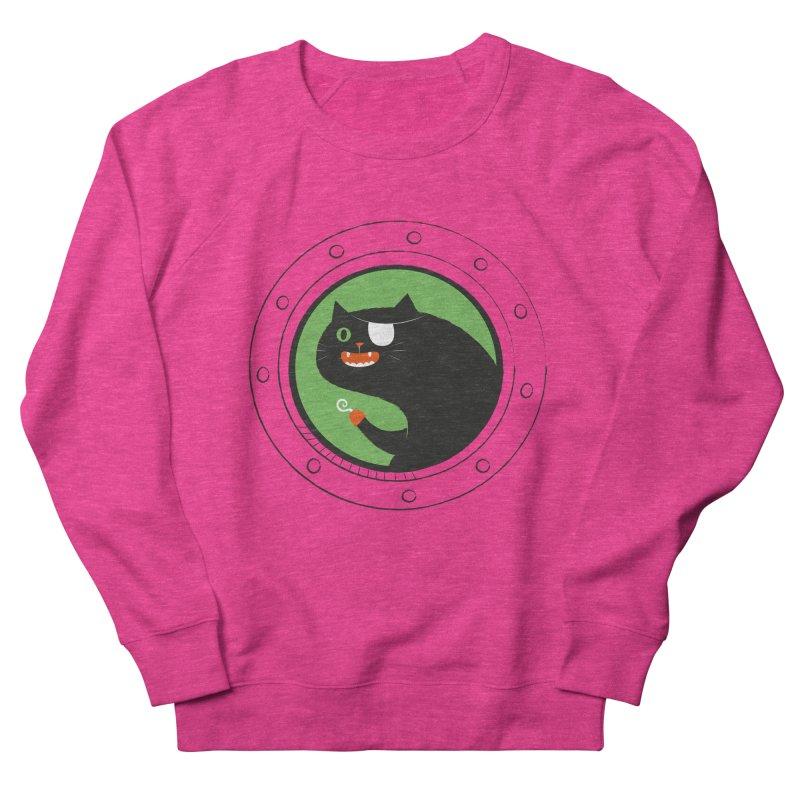 Pirate Cat Men's French Terry Sweatshirt by thiagoegg's Artist Shop