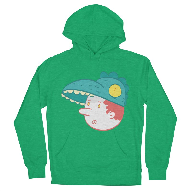 Dino Boy Women's French Terry Pullover Hoody by thiagoegg's Artist Shop