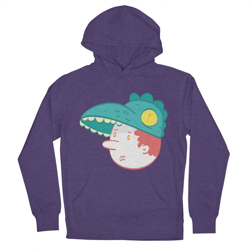Dino Boy Men's Pullover Hoody by thiagoegg's Artist Shop