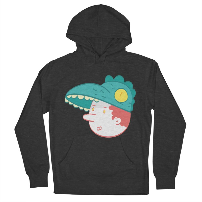 Dino Boy Men's French Terry Pullover Hoody by thiagoegg's Artist Shop