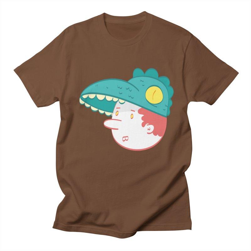 Dino Boy Men's T-Shirt by thiagoegg's Artist Shop