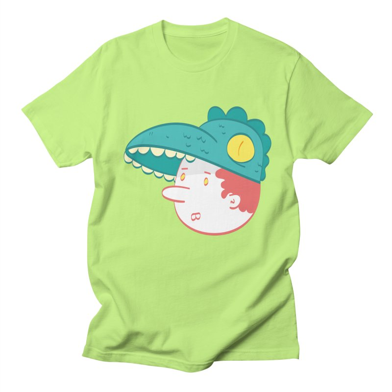Dino Boy Men's T-Shirt by thiagoegg's Artist Shop
